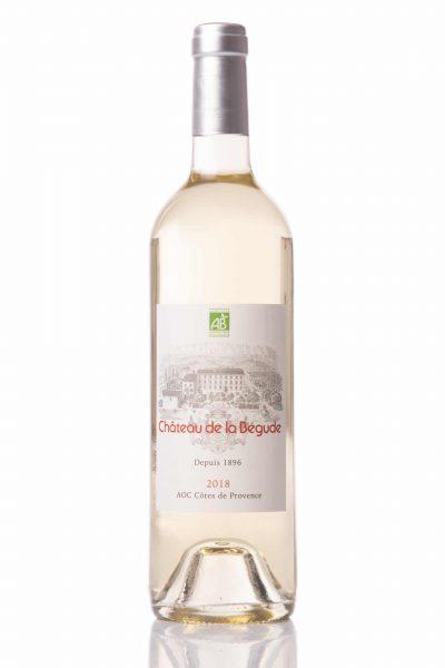 vin blanc 2018 chateau de la bégude