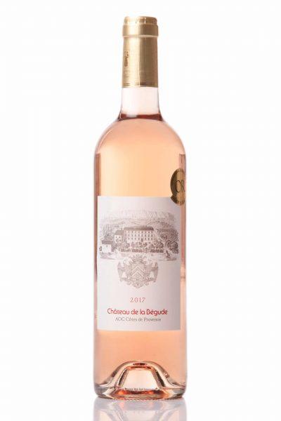 vin rosé 2017 chateau de la bégude