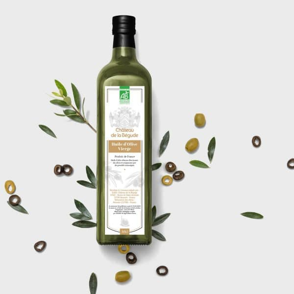 bouteille huile d'olive