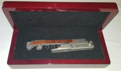 Coffret petit format modèle plaqué bois rare 02