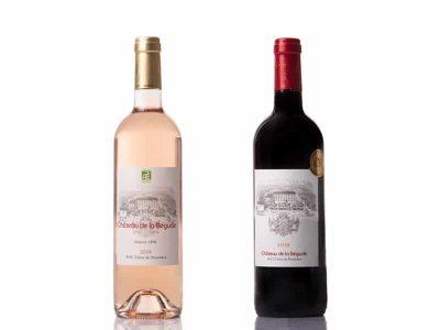 rouge 2016 et rosé 2018